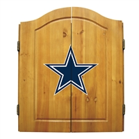 Dallas Cowboys NFL Dart Board w/Cabinet