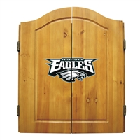 Philadelphia Eagles NFL Dart Board w/Cabinet