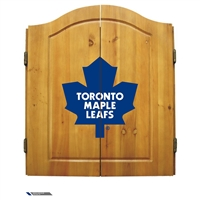 Toronto Maple Leafs NHL Dart Board w/Cabinet
