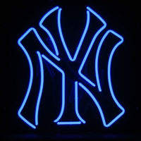 New York Yankees MLB 23 Inch Team Neon Sign
