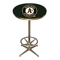 Oakland Athletics MLB Pub Table