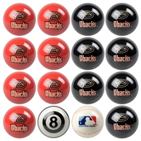 Arizona Diamondbacks MLB 8-Ball Billiard Set