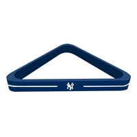 New York Yankees MLB Billiard Ball Triangle Rack