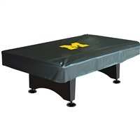 Michigan Wolverines NCAA 8 Foot Pool Table Cover