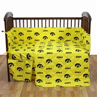 Iowa Hawkeyes 5 piece Baby Crib Set