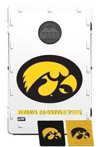 University of Iowa Hawkeye Bag Toss Game by Baggo