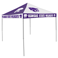 Kansas State Wildcats NCAA 9' x 9' Checkerboard Color Pop-Up Tailgate Canopy Tent