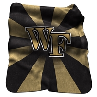 Wake Forest Demon Deacons NCAA Raschel Throw