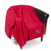 San Diego State Aztecs NCAA Sweatshirt Blanket Throw