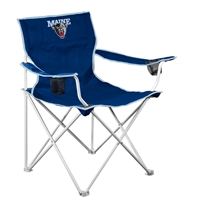 Maine Black Bears NCAA Deluxe Folding Chair