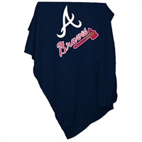 Atlanta Braves MLB Sweatshirt Blanket