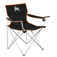 Miami Marlins MLB Deluxe Folding Chair