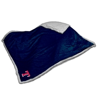 Texas Rangers MLB Soft Plush Sherpa Throw Blanket (50in x 60in)