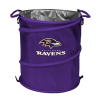 Baltimore Ravens NFL Collapsible Trash Can Cooler