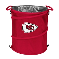 Kansas City Chiefs NFL Collapsible Trash Can Cooler