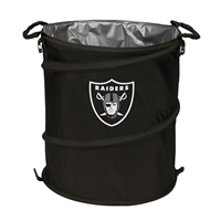 Logo Chair Oakland Raiders NFL Collapsible Trash Can Cooler