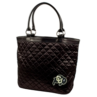 Colorado Golden Buffaloes NCAA Quilted Tote (Black)