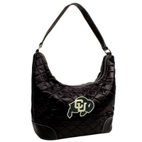 Colorado Golden Buffaloes NCAA Quilted Hobo (Black)