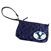 Brigham Young Cougars NCAA Quilted Wristlet (Navy)
