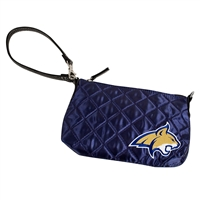 Montana State Bobcats NCAA Quilted Wristlet (Navy)