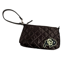 Colorado Golden Buffaloes NCAA Quilted Wristlet (Black)