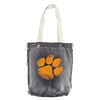 Clemson Tigers NCAA Vintage Denim Shopper