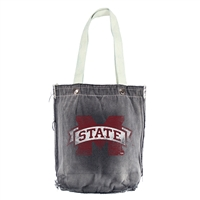 Mississippi State Bulldogs NCAA Vintage Denim Shopper