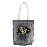 Colorado Golden Buffaloes NCAA Vintage Denim Shopper