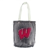Wisconsin Badgers NCAA Vintage Denim Shopper