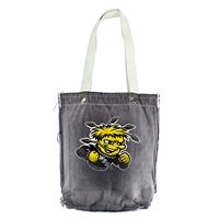 Wichita State Shockers NCAA Vintage Denim Shopper