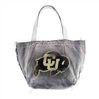 Colorado Golden Buffaloes NCAA Vintage Denim Tote