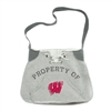 Wisconsin Badgers NCAA Hoodie Sling Bag
