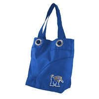 Memphis Tigers NCAA Color Sheen Tote (Royal)