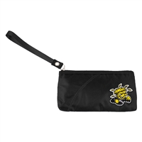 Wichita State Shockers NCAA Color Sheen Wristlet (Black)