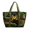 Minnesota Golden Gophers NCAA Camo Tote