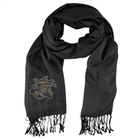 Wichita State Shockers NCAA Black Pashi Fan Scarf