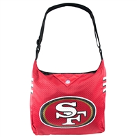 San Francisco 49ers NFL Team Jersey Tote