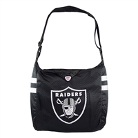 Little Earth Oakland Raiders NFL Team Jersey Tote