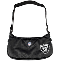 Little Earth Oakland Raiders NFL Team Jersey Purse