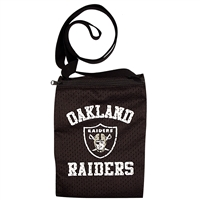 Little Earth Oakland Raiders NFL Game Day Pouch