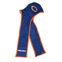 Chicago Bears NFL Ultra Fleece Hoodie Scarf