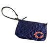 Chicago Bears NFL Quilted Wristlet (Navy)