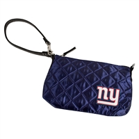 New York Giants Quilted Wristlet (Navy)