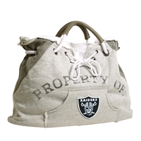 Little Earth Oakland Raiders NFL Property Of Hoodie Tote