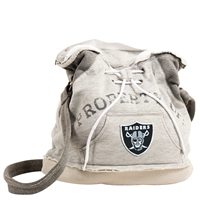 Little Earth Oakland Raiders NFL Property Of Hoodie Duffel