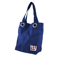 New York Giants Color Sheen Tote (Navy)