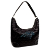 Carolina Panthers NFL Sport Noir Quilted Hobo