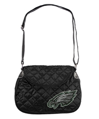Philadelphia Eagles NFL Sport Noir Quilted Saddlebag