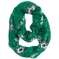 Dallas Stars NHL Sheer Infinity Scarf