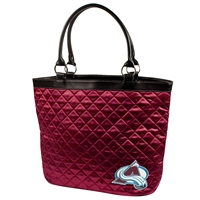 Colorado Avalanche NHL Quilted Tote (Dark Red)